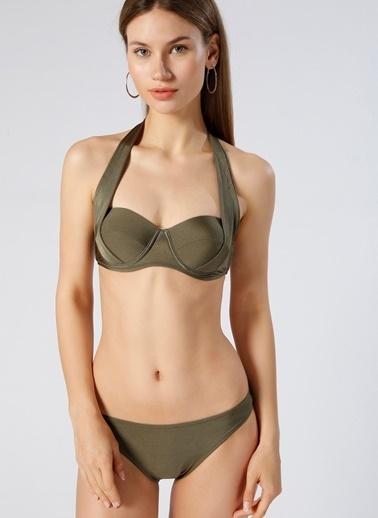 Limon Company Bikini Üst Haki